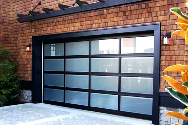 Clopay all glass garage doors